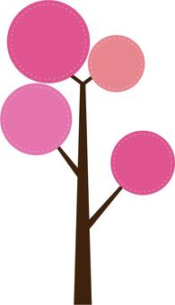 Simple cherry tree