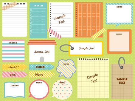 Notepad set