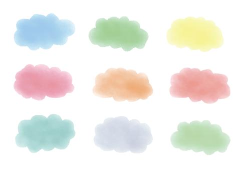 Watercolor _ cloud _02