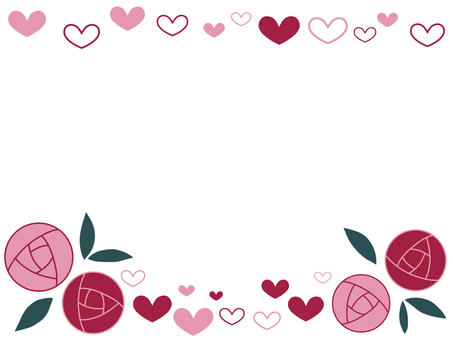 Rose and Heart Pink