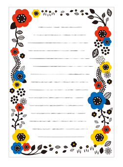 Scandinavian Design Stationery 04