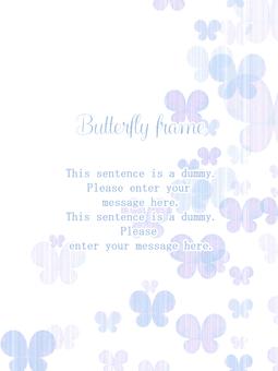 Butterfly frame 01 / purple
