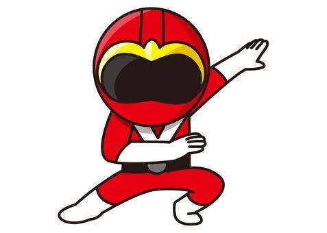 Red Ranger - Transformation
