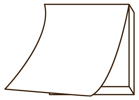 264 blank paper flip calendar