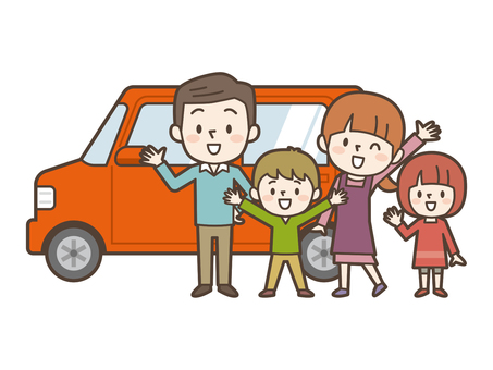 Cars and happy families