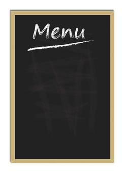 칠판 메뉴