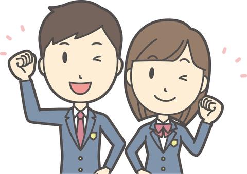 高校生男女セット-009-バスト