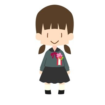 New student (girl)