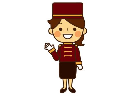Hotelier, Concierge