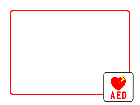 AED mark frame