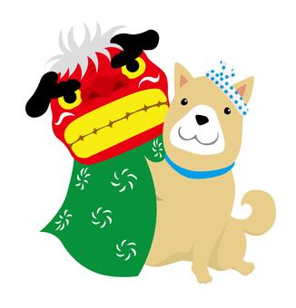 Shishimai狗