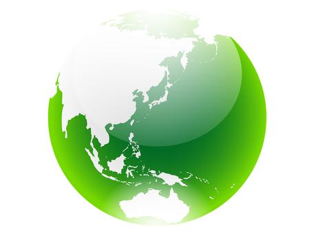 ai green earth icon