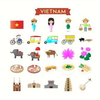 Illustration of Vietnam