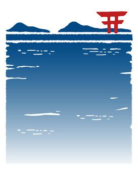Scenery of the Seto Inland Sea
