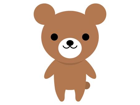 곰 동물 베어 서 포즈