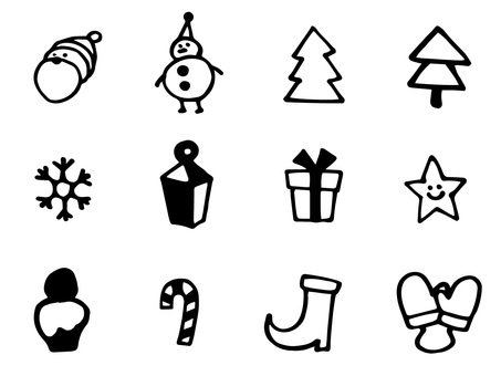 Christmas icon a