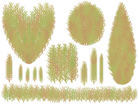 Topiary Parts (Yellow)