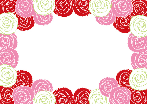 Carnation · Rose frame