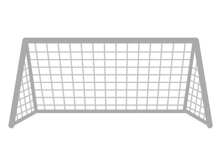 Goal net material such as soccer