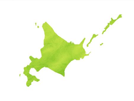 홋카이도 지역지도