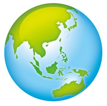 青い地球環境
