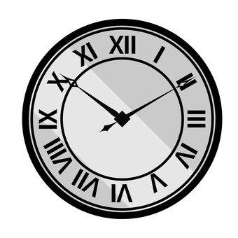 A wall clock