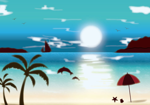 Tropical Ocean Background 1