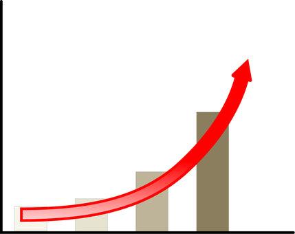Rising graph 01