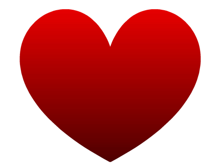 Red heart simple
