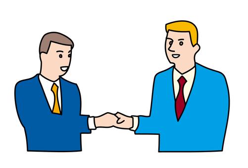 Handshake businessman 1-3