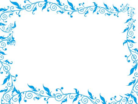 Blue grass frame