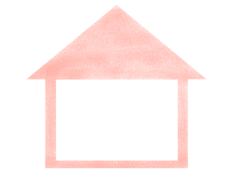 House frame (pink)