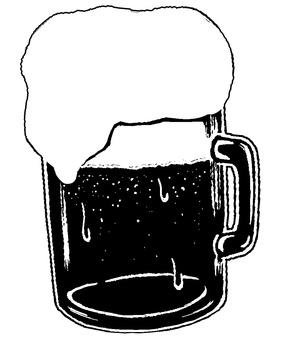 맥주 실루엣