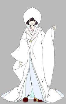Kashima Maehime,白色永久鏈接1