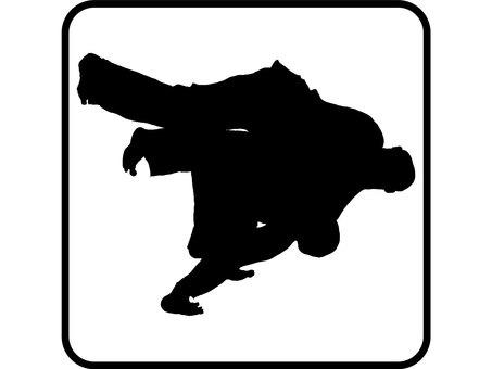 1804 One judo handbag Icon
