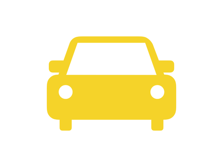 Car Vehicle Silhouette Yellow