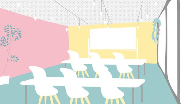 세련된 회의실 이미지