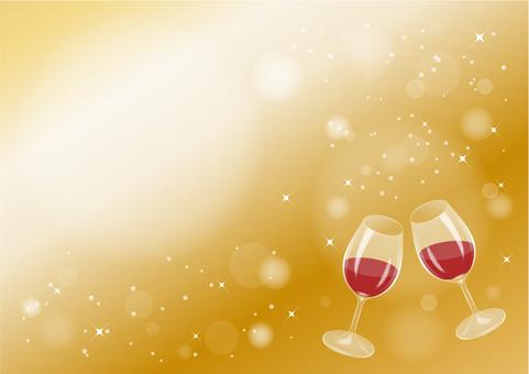 Wine toast (sideways)