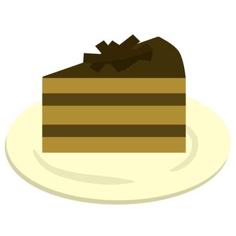 巧克力蛋糕④