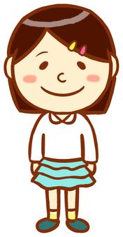 Female primary school student 2