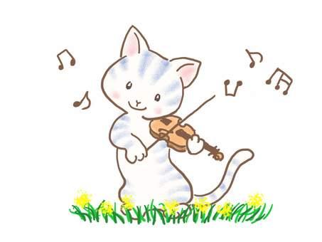 バイオリンねこ35