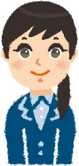 Female member A-1