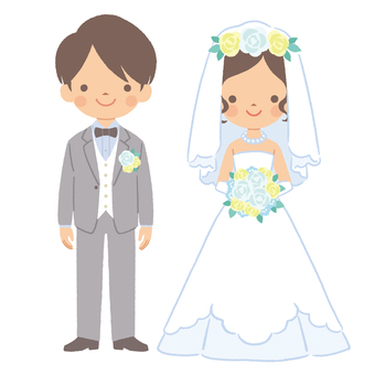 Two people getting married 1