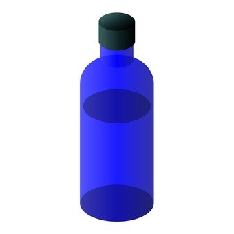 Light shielding bottle for aroma