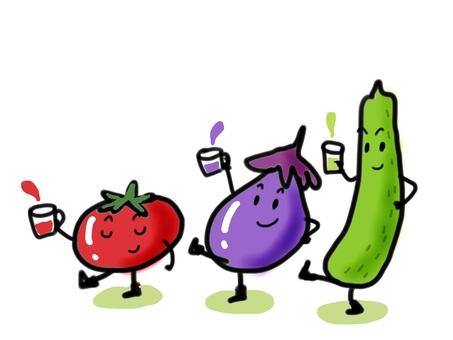 여름 야채들