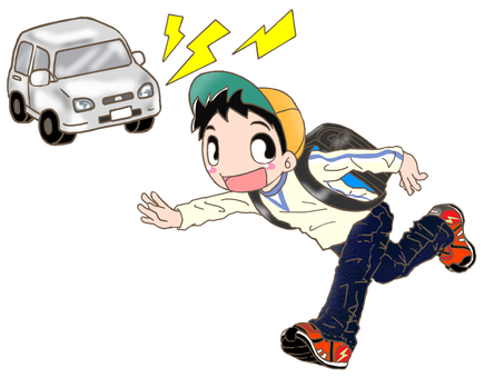 Traffic safety Be careful! ②