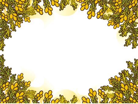 Pollen frame background