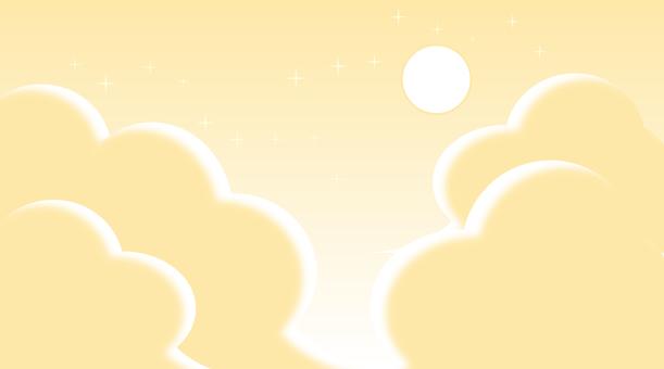 환상적인 하늘