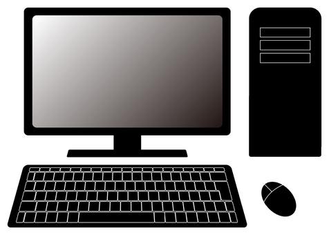 Personal computer (monochrome)