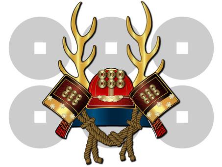 Helmet - with a crest (Yukimura Sanada)